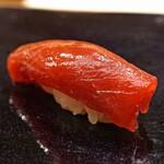 日本橋蛎殻町 すぎた - 鮪の赤身のづけ