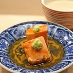 日本橋蛎殻町 すぎた - あん肝の甘煮