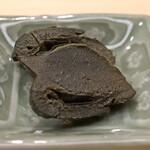 日本橋蛎殻町 すぎた - アワビの肝の味噌漬