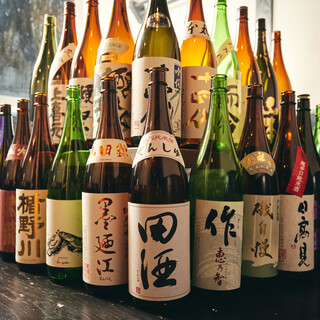 90種の日本酒で貝とのペアリング♪お得すぎる日本酒飲み放題◎
