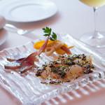 ル・コフレ - 素材を重視した鮮魚の一皿