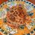 クッチーナ マッジョ - 料理写真:トロットロに柔らかく煮込まれた、大きな牛スジがゴロゴロ具沢山♪イタリアらしいお皿もポップで可愛い!