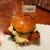 野乃鳥梅味堂 - サクサク衣のチキンカツは酒粕でマリネされ、厚みがあるのにしっとり柔らか&旨味しっかり♪バンズもふっくら口溶け抜群!