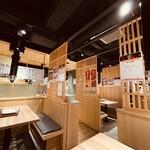 ホルモン焼道場 蔵 - 【2021年2月10日】店内写真。