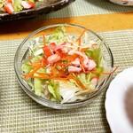 磯料理 光力 - サラダ