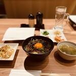 ホルモン焼道場 蔵 - 【2021年2月10日】『炭火焼肉丼』。