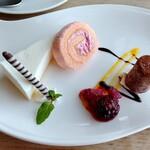 大田原 牛超 - デザートは食べ放題系にあるようなタイプでした( ω-、)