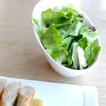 大田原 牛超 - サラダのドレッシングが美味しかった
