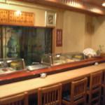 一樂鮨 - 立喰いのお寿司を楽しむカウンター席(要予約)