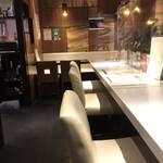 日本酒スローフード方舟 - 店内。