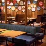 タイ料理 カフェランブータン - 2021.2 テーブル席