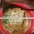 博多ラーメン とんこつ家 - 濃厚豚骨味噌ラーメン890円 丼の直径21cm
