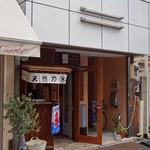 食堂 八 - お店は豊島園駅から歩いてすぐのところにあります。