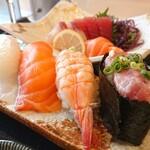 和食 くろ木 - 「くろ木御膳」の寿司