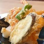 和食 くろ木 - くろ木御膳の天ぷら