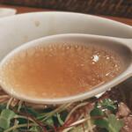 145804289 - 醬油SOBA(スープ)