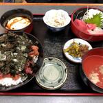 Maguroryourikibun - 鉄火丼定食
