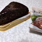 セブンイレブン - 料理写真:7プレミアム 生チョコミルクレープ~☆