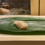 Edomaebikkurizushi - ・白みる貝 298円/税抜