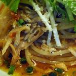 アフラテッロ - しらすと豚肉のスパゲティ
