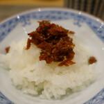 輪久 - 干し海老の佃煮ご飯
