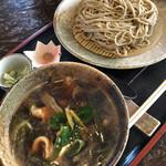 そば酒処 昌の屋 - 料理写真:冷し焼き鶏 980円