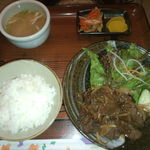 14583319 - 焼き肉定食、500円!