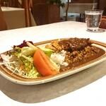 レストラン カナル - ヒレカツカレー ¥990