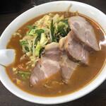 東所沢 大三元 - 料理写真:味噌チャーシュー麺 ¥850