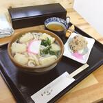 いけこうどん - 料理写真:しめて530円