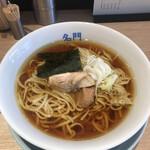 名門 - 醤油ラーメン750円!