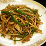 しゅんらい亭 - 料理写真:青椒肉絲