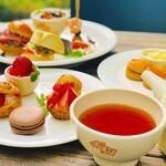 【平日予約限定11:00~】アフタヌーンティープラン2hコーヒー&紅茶フリー 3,000円(税込)