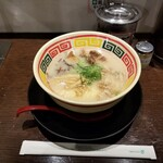 東京じゃんがら - 東京とんこつじゃんがら角煮入り。
