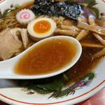 多文 - 煮干の効いたスープ