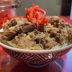 多文 - 「ミニ牛丼」250円