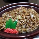 松月堂 - 野菜たっぷりソース焼きそば(298円)