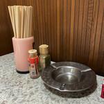 萬盛庵 - 料理写真:テーブルアイテム