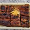 うなぎの千年家 - 料理写真:せいろ蒸し。びっしり鰻が敷き詰められています。