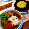 ファームヤード - 料理写真:スープスパイス野菜セット 1300円 (+チーズ 160円/激辛 50円)