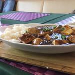 くまキッチン - 豆腐一丁くらいありそう