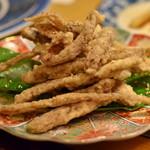 川京 - 鰻の骨せんべい