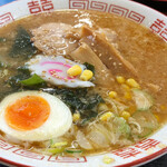 会津野 - 料理写真:味噌ラーメン