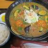 手打ちうどん 紅屋 - 料理写真:麻婆茄子あんかけうどん+白ご飯小