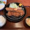 とんかつ かつ吉 - 料理写真:とんかつと海老フライのセット