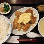 かめのお - チキン南蛮(¥780)