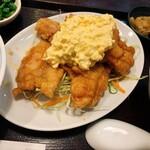 かめのお - チキン南蛮☆お肉たっぷりです〜
