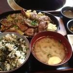 清香園 - 牛たん定食