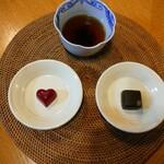 とことわ - まだ 食べてないの    写真だけ  葡萄山椒 生産量日本一を 誇る有田川町の山椒の風味が 魅惑的 ルージュって 何だろう? (・_・?)