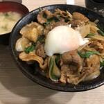 伝説のすた丼屋 - 料理写真:スタミナホルモン焼肉丼並盛(880円)